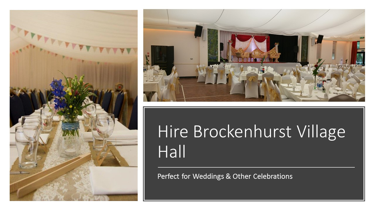 Wedding Packages Brockenhurst Village Hall