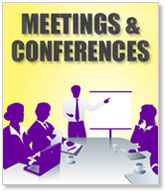 Hire a room for meetings and conferences