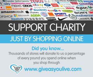 Support Us with Give as you Live